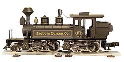 "2-4-4-0 Steam Locomotive Mallet Type ""Sequoia Lumber Co. """