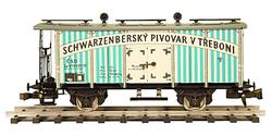 "Beer Car ČSD Series Lp ""Schwarzenberg"""