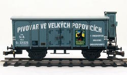 "Beer Car ČSD Series Lp ""Velké Popovice"" with Brakeman's Cabin - 1"