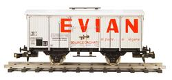 Refrigerated Car for Mineral Water Evian/ Badoit
