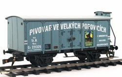 "Beer Car ČSD Series Lp ""Velké Popovice"" with Brakeman's Cabin - 2"