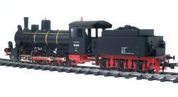 0-8-0 DR Steam Locomotive with tender, Series 55 - 3