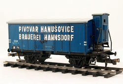 "Beer Car ČSD ""Hanušovice"" with Brakeman's Cabin - 3"