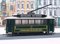 Tramway with covered platform - Prague, Czech Republic - 3