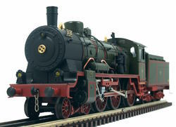 4-6-0 Prussian Steam Locomotive, Class P8 - 4