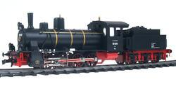 0-8-0 DR Steam Locomotive with tender, Series 55 - 6