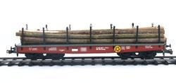 Four Axles Flat Car DB, Series Smmp - 6
