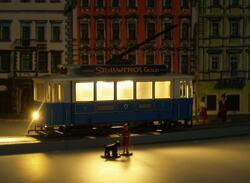 Tramway with covered platform - Munich, Germany - 6