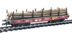 Four Axles Flat Car DB, Series Smmp - 7